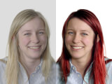 Bildredigering av ansikte FÖRE - EFTER