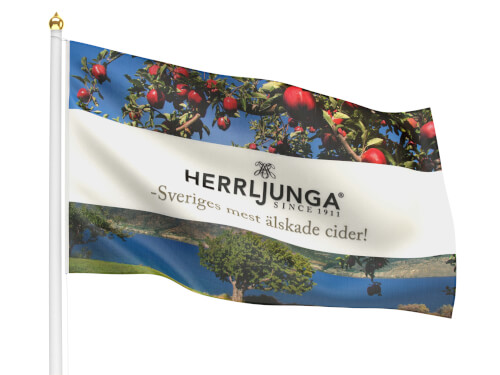 Reklamflagga 300x180 cm
