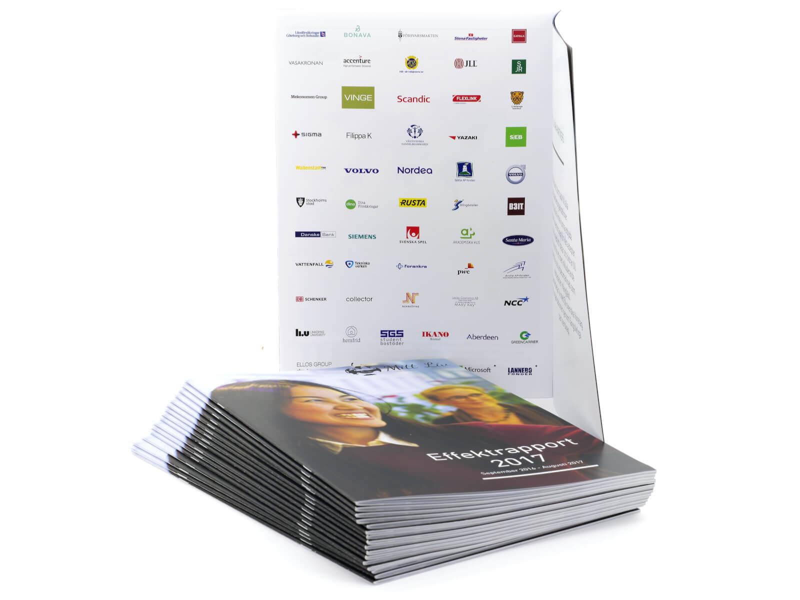 Bild på broschyr som vi har producerat för Mitt Liv