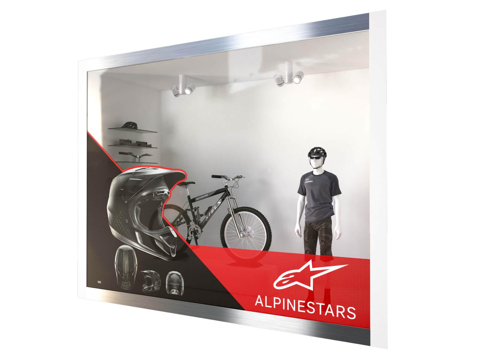 Fönsterdekal One way vision - Referensbild
